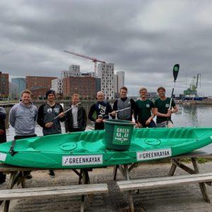 Green Kayak Hamburg